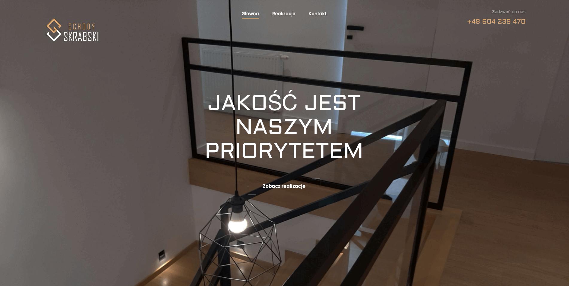 Zrzut ekranu ze strony skrabskischody.pl